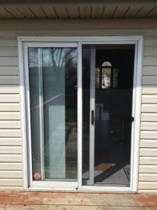 Patio Door Replacement in Windsor, ON - Before Photo