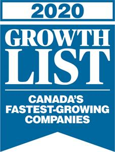 Brookstone Windows & Doors Ranked #20 in Canada by Growth 500